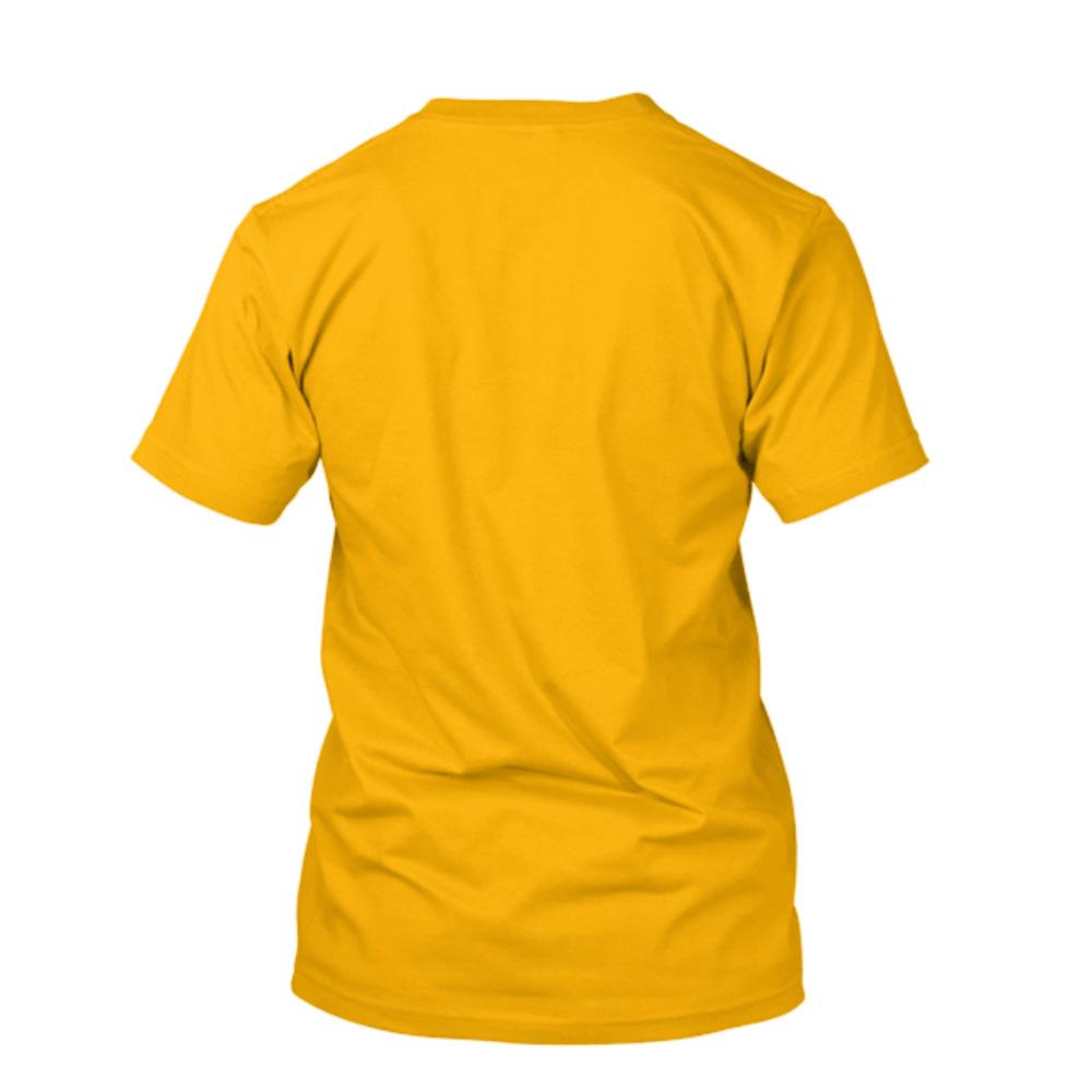433aa57fd7 Camiseta de Algodão Masculina Amarela Lisa - Super Estampas
