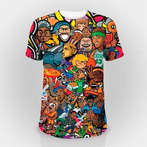 Camisetas com Sublimação Completa