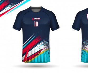 camisas de futebol estampadas