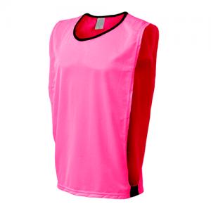 colete de futebol rosa para treino