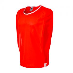 colete de futebol vermelho de treino